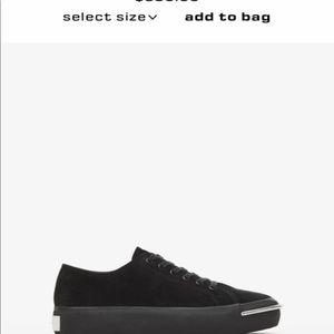 Alexander Wang Shoes - Alexander Wang Black Sneaker